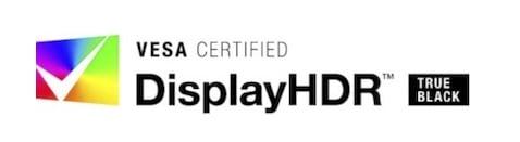 VESA Certified DisplayHDR [True Black]